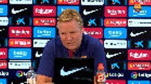 Koeman: Los propios jugadores han notado el cambio; no salimos al campo a descansar