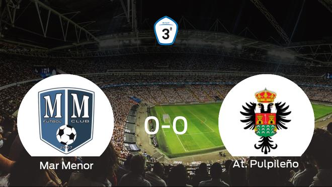 El Mar Menor y el At. Pulpileño no encuentran el gol y se reparten los puntos (0-0)