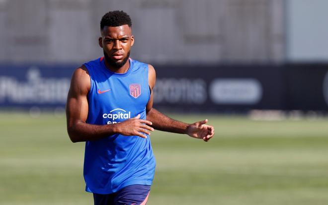 El Atlético recupera a Lemar y Vrsaljko