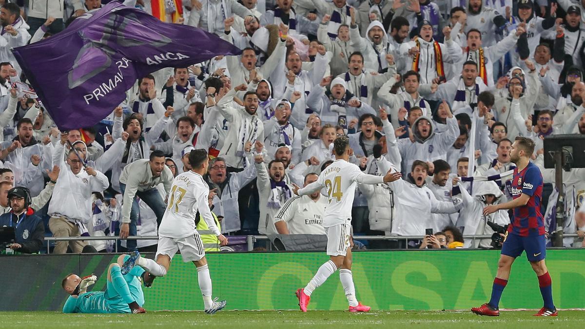 El Bernabéu no acoge ningún partido desde el 1 marzo de 2020