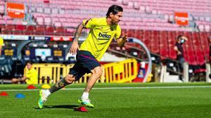¡El Barça vuelve al Camp Nou! Así ha etrenado el equipo en el estadio con Messi y Luis Suárez