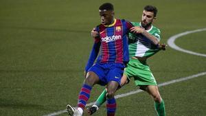 La alineación del FC Barcelona ante el Cornellá