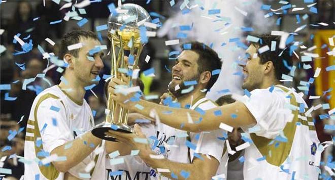 El Madrid, campeón de la Copa del Rey de basket