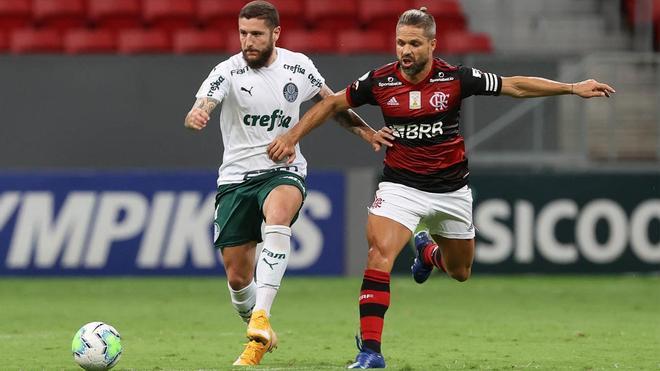 No hay favorito en el Flamengo-Palmeiras de la Supercopa do Brasil