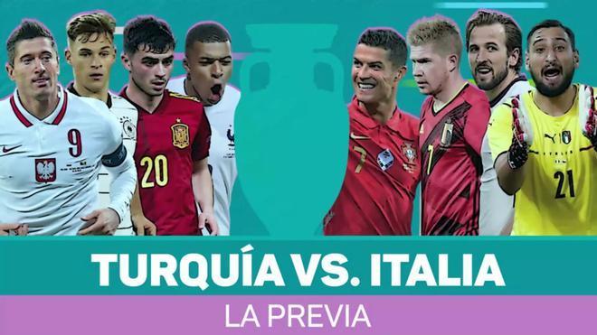 Turquía vs. Italia - la previa