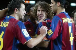 Puyol y Márquez, en su época juntos en el Barça