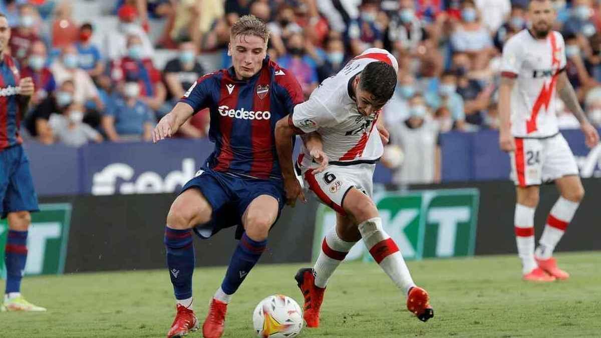 El Rayo Vallecano suma dos derrotas, una victoria y un empate en esta campaña