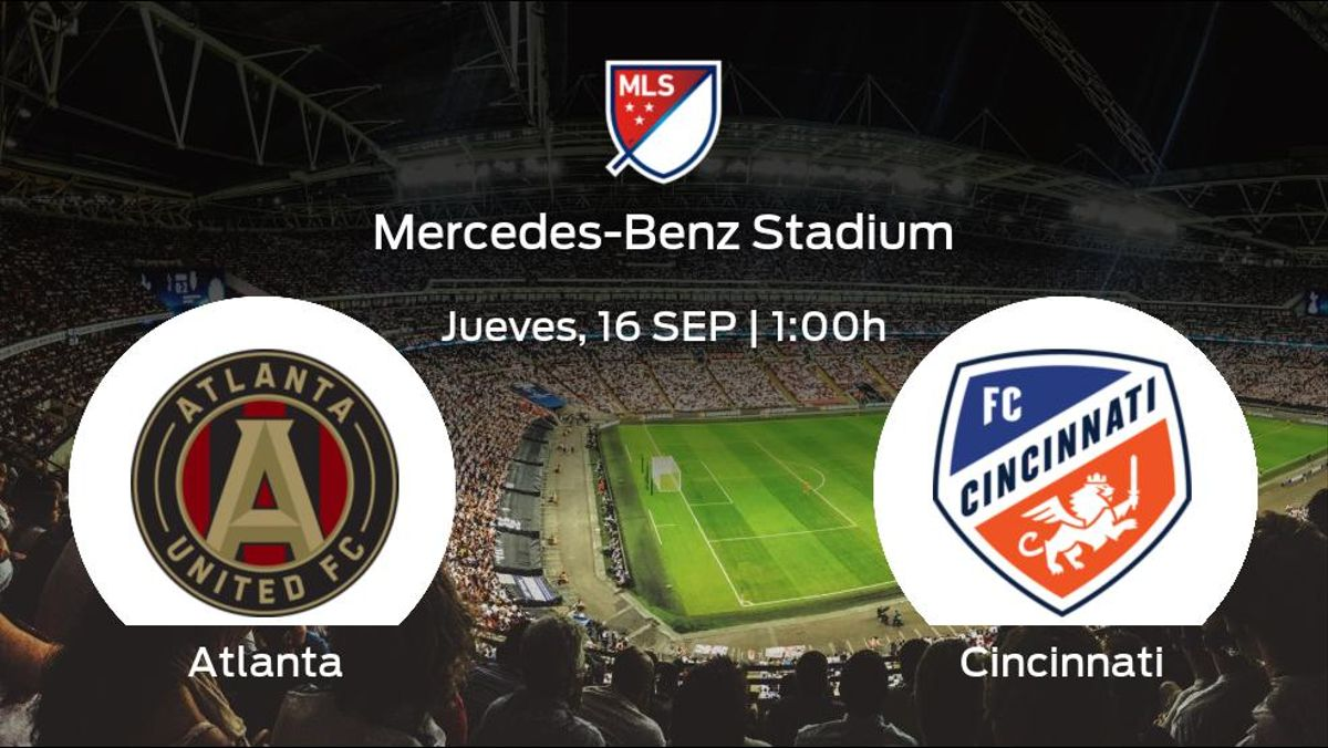 Jornada 32 de la Major League Soccer: previa del encuentro Atlanta United - Cincinnati