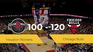 Chicago Bulls gana a Houston Rockets por 100-120
