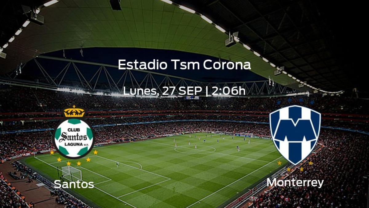 Jornada 10 de la Liga MX de Apertura: previa del duelo Santos Laguna - Monterrey