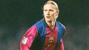Petit jugó en el Barça durante la temporada 2000-2001
