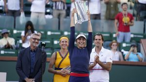 Paula Badosa, campeona de Indian Wells