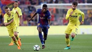 LALIGA | FC Barcelona - Villareal (5-1): Dembelé marcó el 4-1