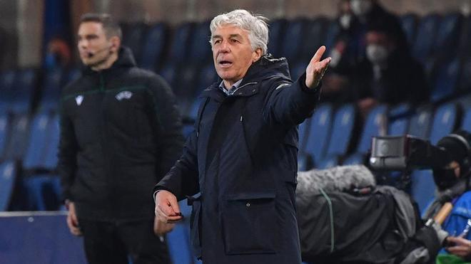 Gasperini, entrenador del Atalanta