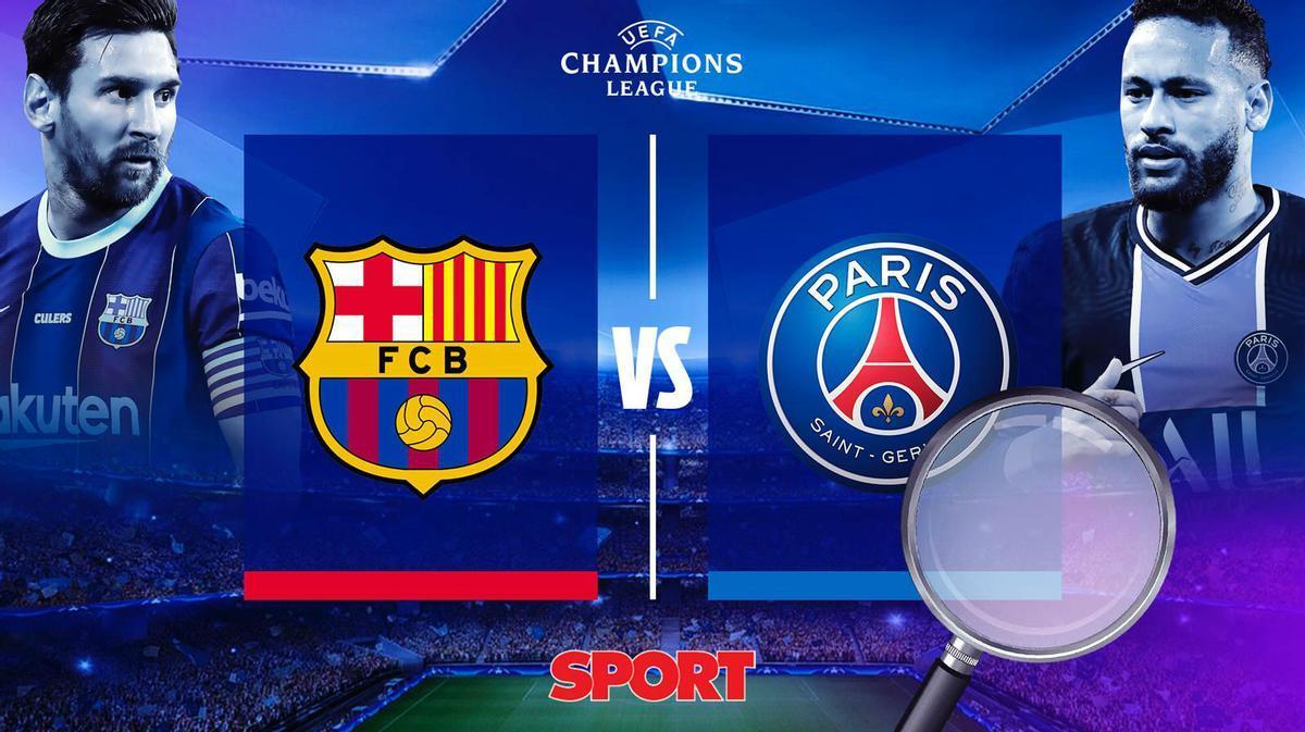 Analizamos el encuentro entre el FC Barcelona y el PSG