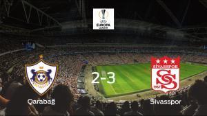 El Sivasspor gana 2-3 al Qarabag FK y se lleva los tres puntos