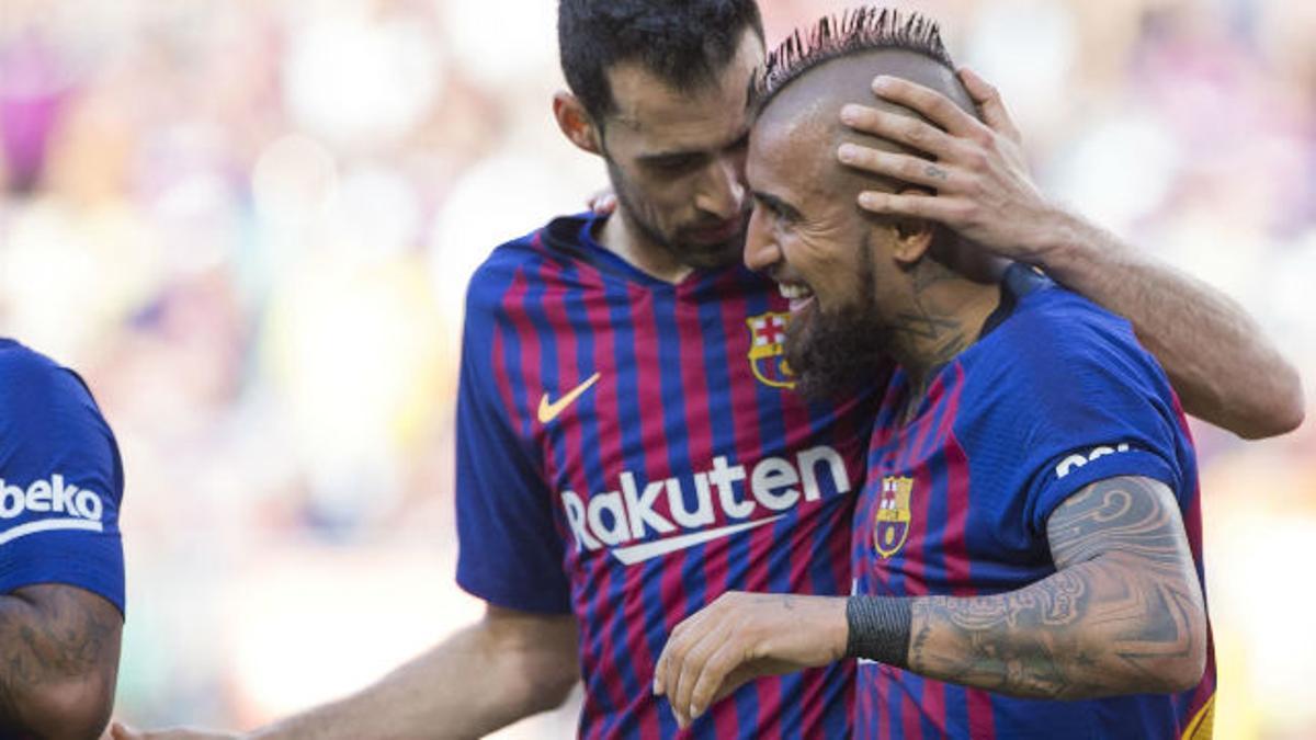 El 1x1 del Barça ante el Getafe