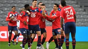 El Lille ganó en el último minuto