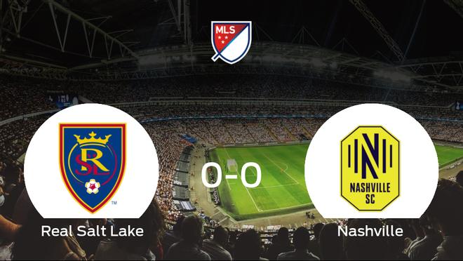El Real Salt Lake y el Nashville SC no encuentran el gol y se reparten los puntos (0-0)