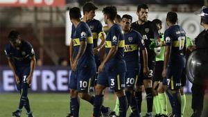 Jugadores de Boca Juniors