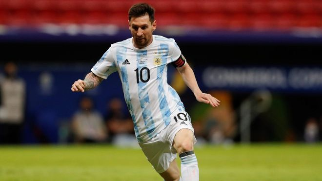 ¡Es el mejor! La exhibición de Leo Messi en la victoria de Argentina a Uruguay