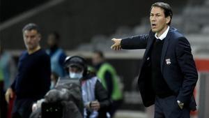 Rudi García, entrenador del Olympique de Lyon