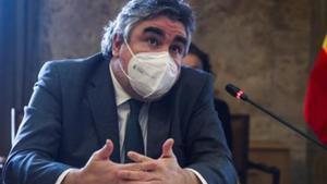 El Ministro de Deportes y Cultura, José Manuel Rodríguez Uribes