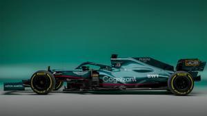 El nuevo monoplaza de Vettel y Stroll