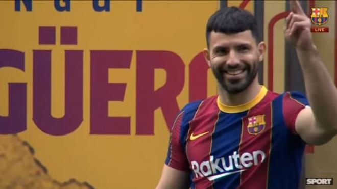 El Kun Agüero traslada su leyenda a Barcelona