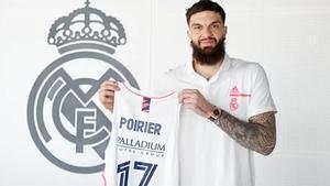 Poirier llega para reforzar el Madrid de cara al final de la temporada en la Liga Endesa