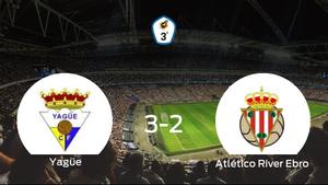 El Yagüe gana 3-2 en casa al Atlético River Ebro