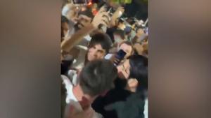 ¡BRUTAL! El multitudinario recibimiento a Leo Messi en Miami