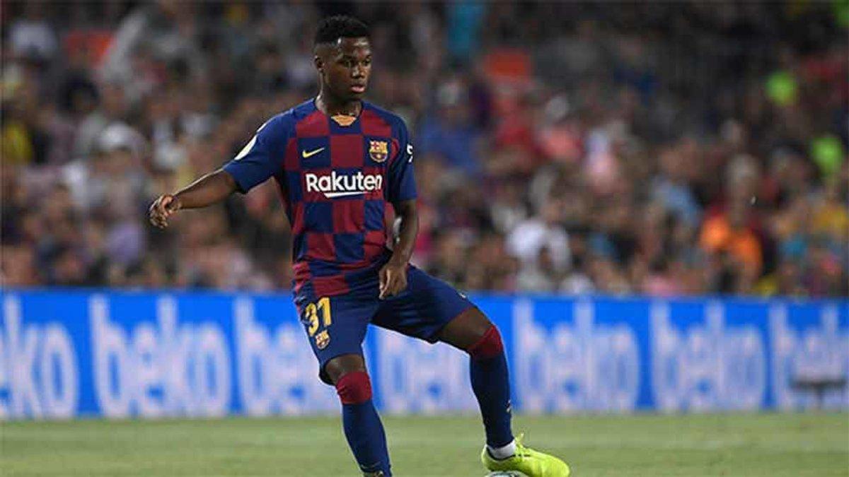 Ansu Fati, futbolista del Barça