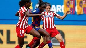 El Barça se llevó el duelo ante el Atlético en el Johan Cruyff