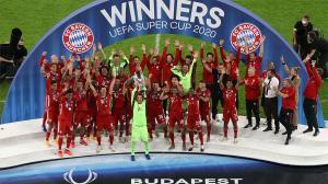 Los datos de la Supercopa de Europa ganada por el Bayern al Sevilla (2-1)
