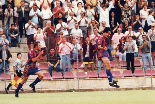 7.Xavi Hernández 1996-97