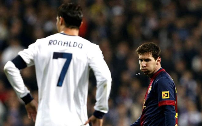 Messi escupió a Cristiano Ronaldo