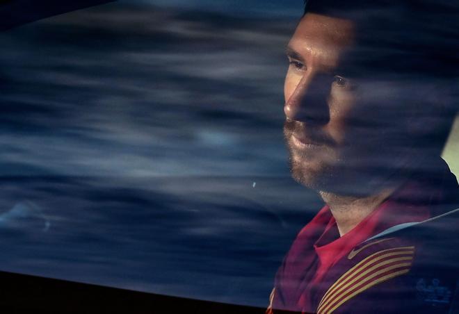 Messi, abatido