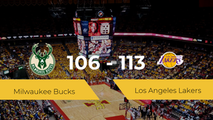 Los Angeles Lakers consigue vencer a Milwaukee Bucks (106-113)