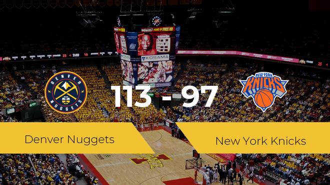 Triunfo de Denver Nuggets ante New York Knicks por 113-97