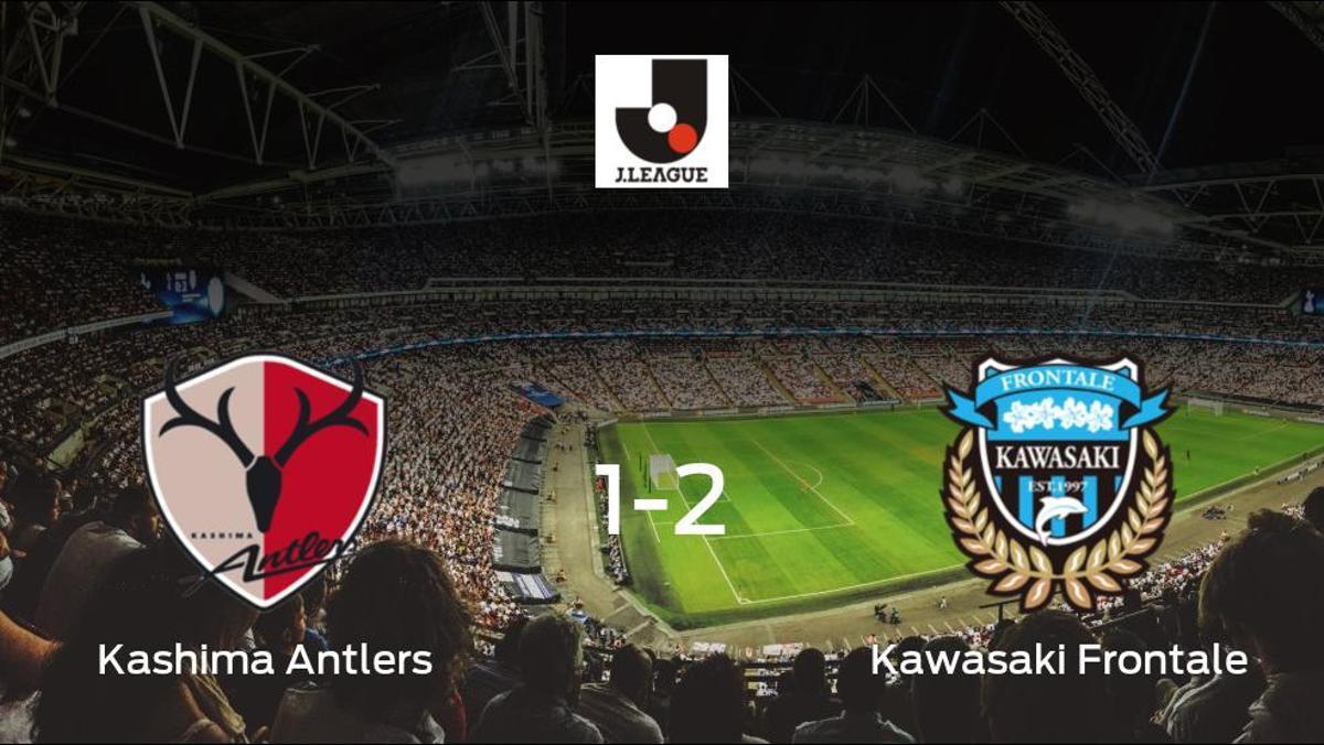 El Kawasaki Frontale suma tres puntos a su casillero ante el Kashima Antlers (1-2)