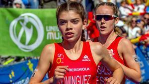 La corredora Carla Domínguez en una imagen de archivo
