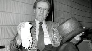 Helenio Herrera, el Mago, fue el gran protagonista del clásico del Camp Nou en noviembre de 1980