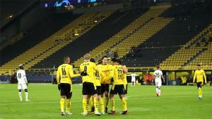 El Dortmund tumba al Brujas a base de golazos