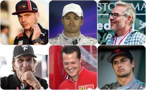 Las sagas familiares en la F1