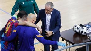 Este lunes se sabrá el alcance de la lesión de Sergio Lozano