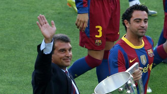 Xavi: Laporta lo hará bien, es el mejor presidente que he tenido en el Barça