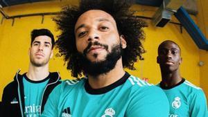 El Madrid presenta su tercera equipación