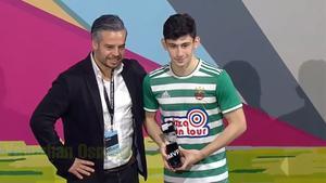 Demir fue elegido MVP del Mercedes-Benz Cup 2020