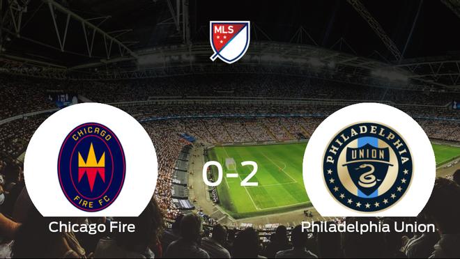 Triunfo del Philadelphia Union frente al Chicago Fire (0-2)